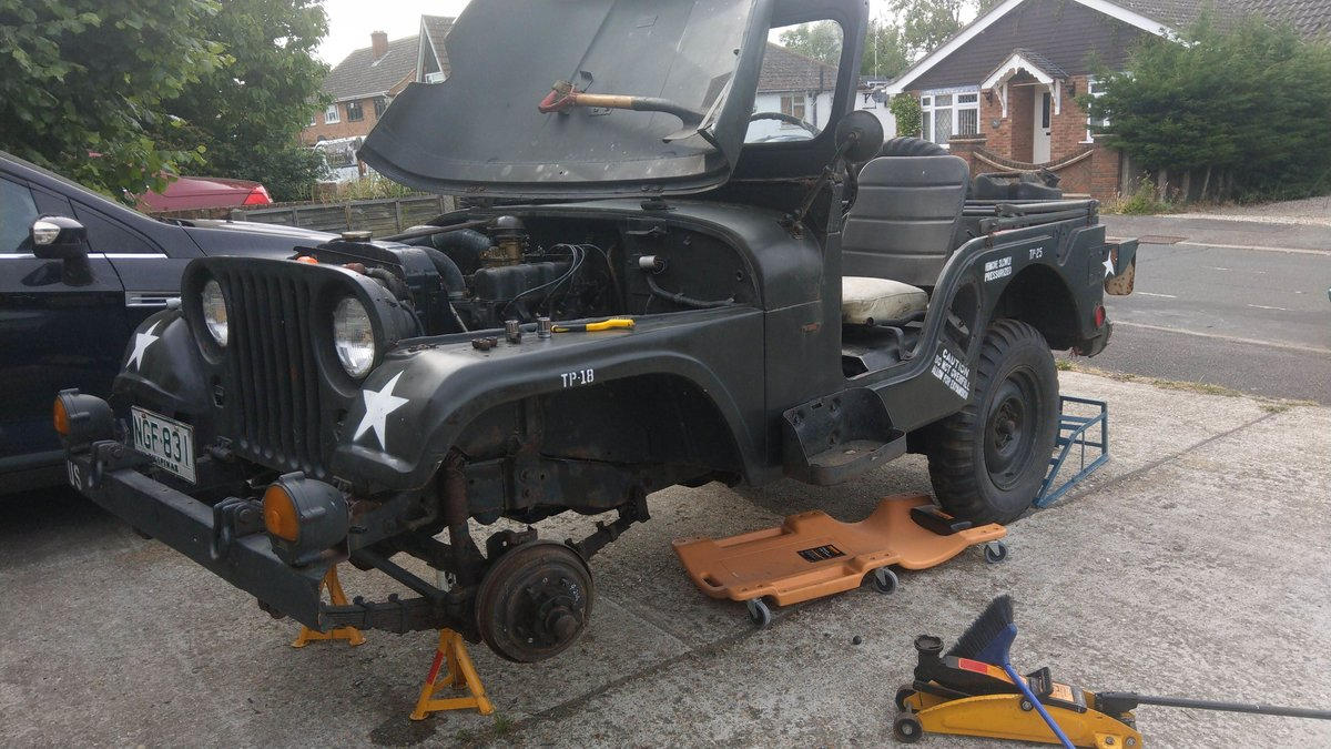 1954 US Army M38a1 Jeep - Unfinished Project SOLD (picture 4 of 4)