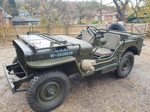 **DECEMBER AUCTION** 1941 Willys Jeep SOLD by Auction