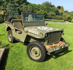 1943 Willys Jeep - Interesting History For Sale by Auction