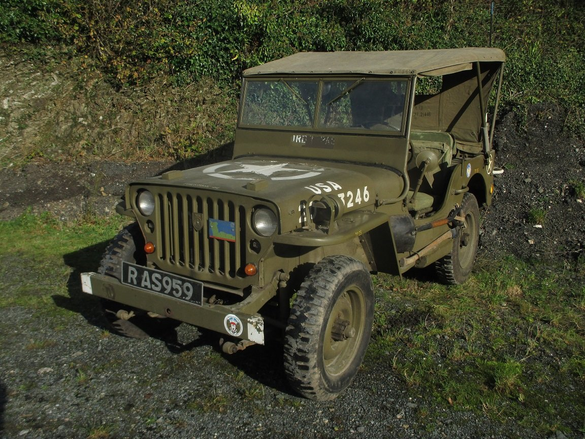 1962 willys jeep  hotchkiss 201 SOLD (picture 6 of 6)
