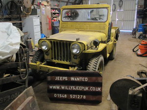 1942 willys or  hotchkiss jeep