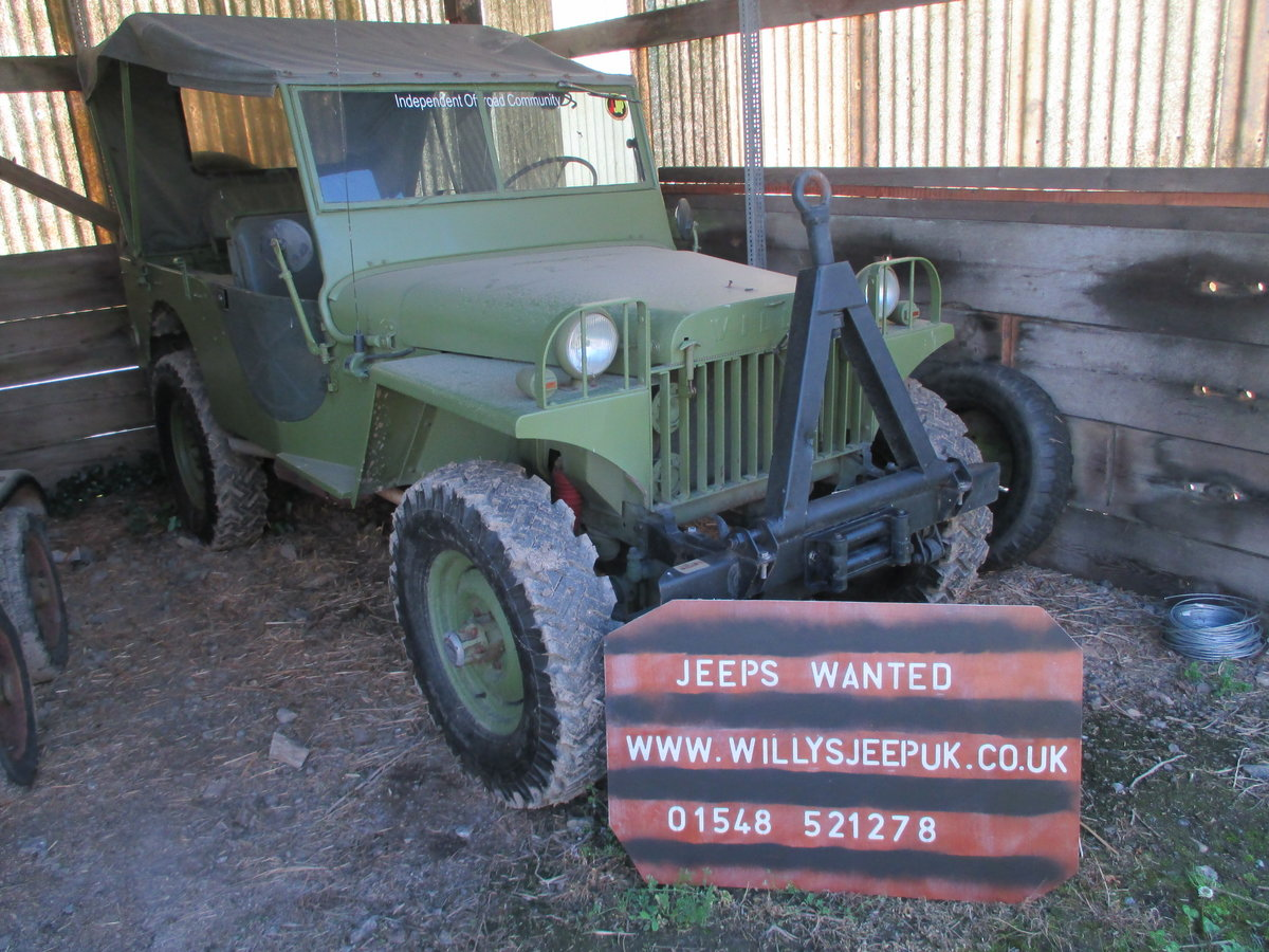1942 willys or  hotchkiss jeep Wanted (picture 2 of 5)