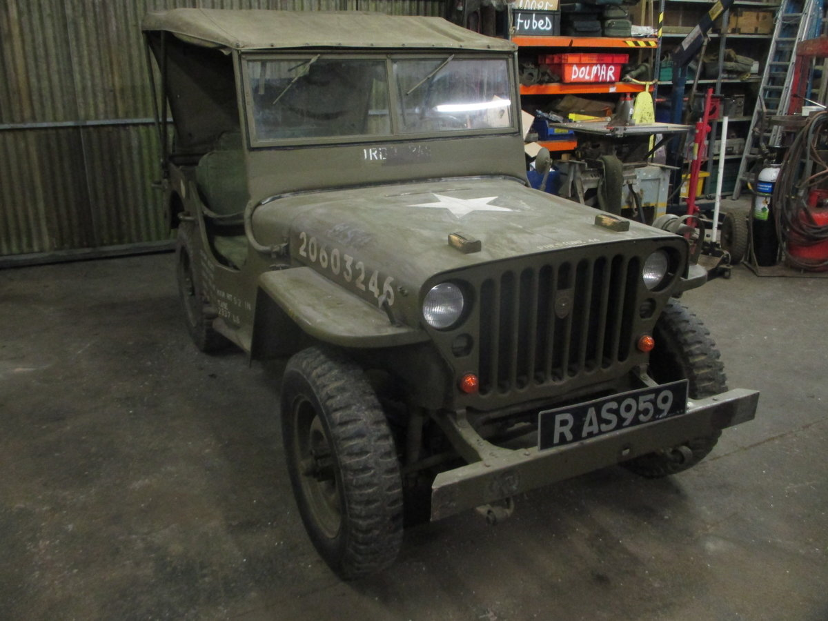 1943 willys jeep gpw genuine ww2 jeep For Sale (picture 4 of 6)