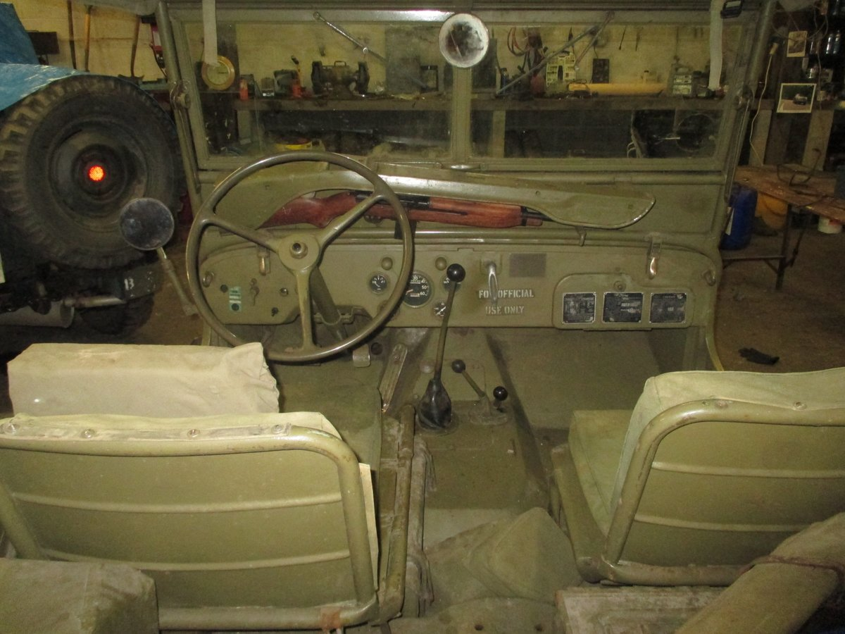 1943 willys jeep gpw genuine ww2 jeep For Sale (picture 5 of 6)
