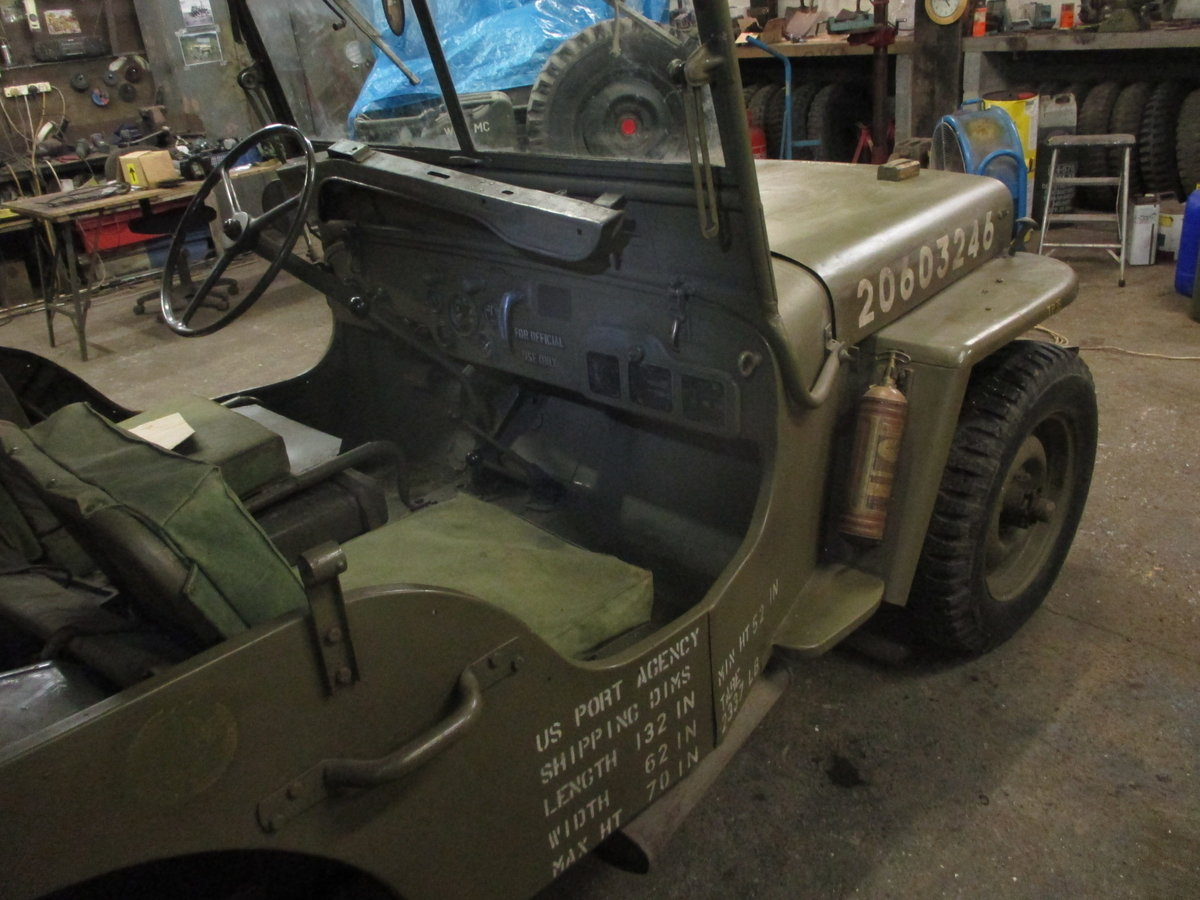 1943 ford gpw  jeep  SOLD (picture 3 of 6)