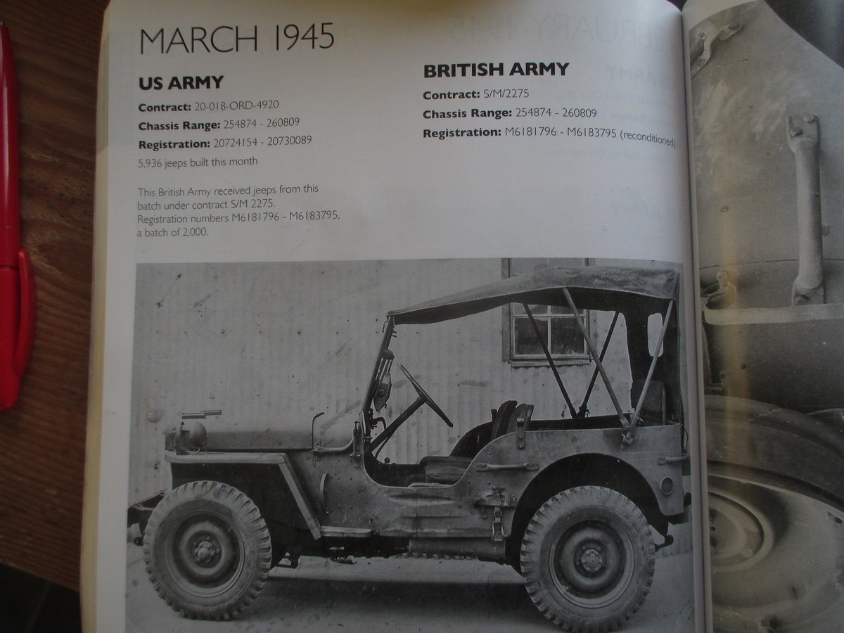 1943 ford gpw  jeep  SOLD (picture 4 of 6)