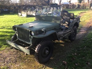 1942 Willys Jeep 1943 For Sale
