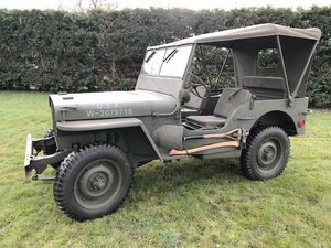 1942 Willys MB Jeep For Sale by Auction