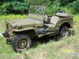 1943 Hotchkiss/Willys/Ford Jeep