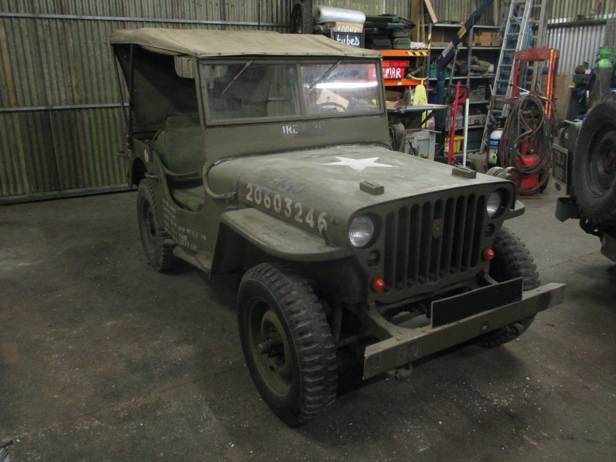 1943 ford gpw  jeep  SOLD (picture 6 of 6)