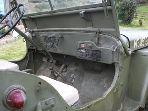 1956 willys jeep French army