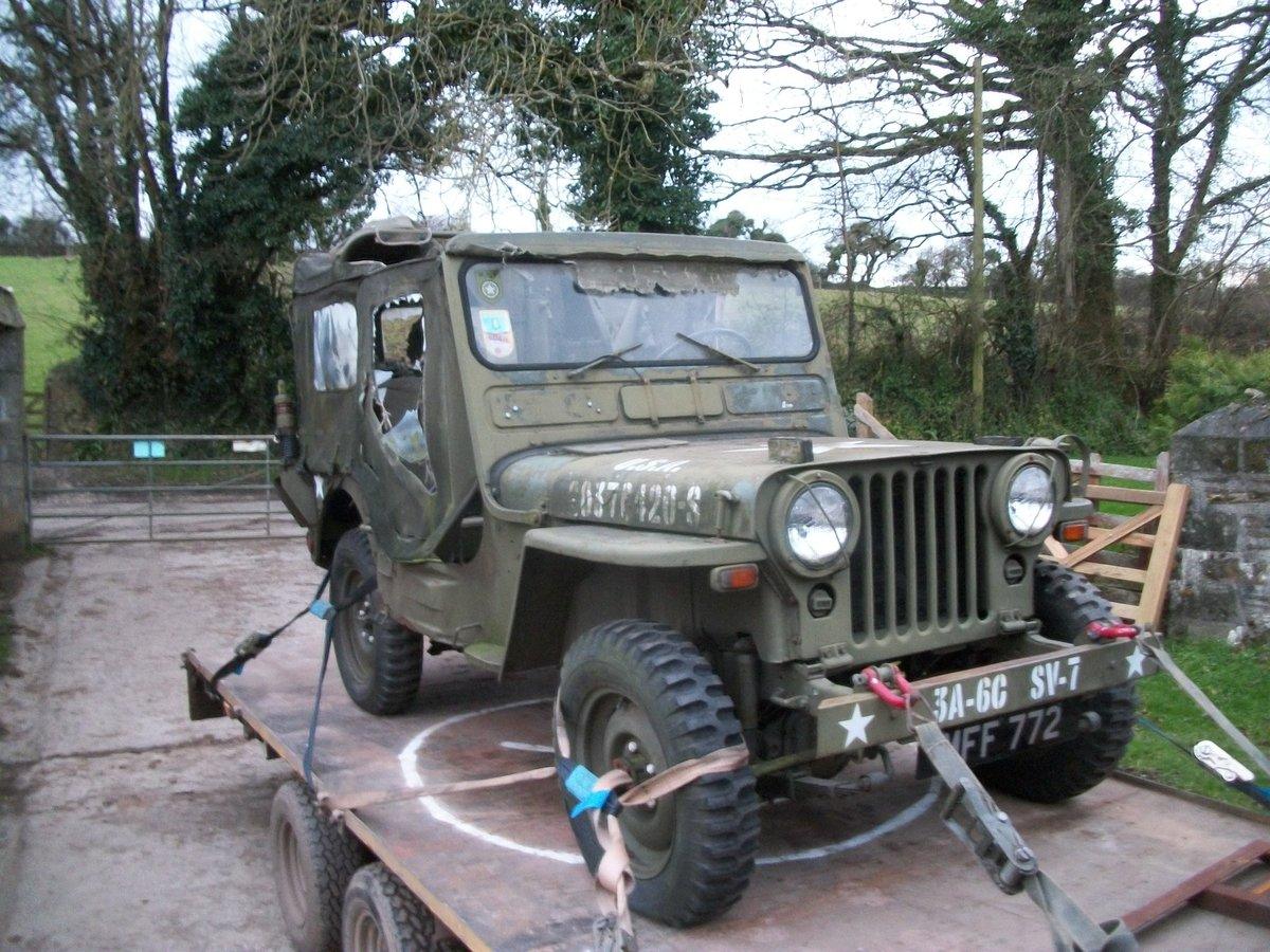 1956 willys jeep For Sale (picture 3 of 3)