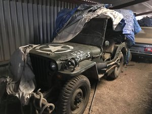 1945 Willys jeep **SOLD**