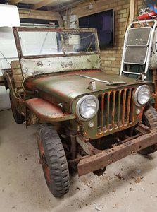 1948 Willys jeep Cj2a project or just use.