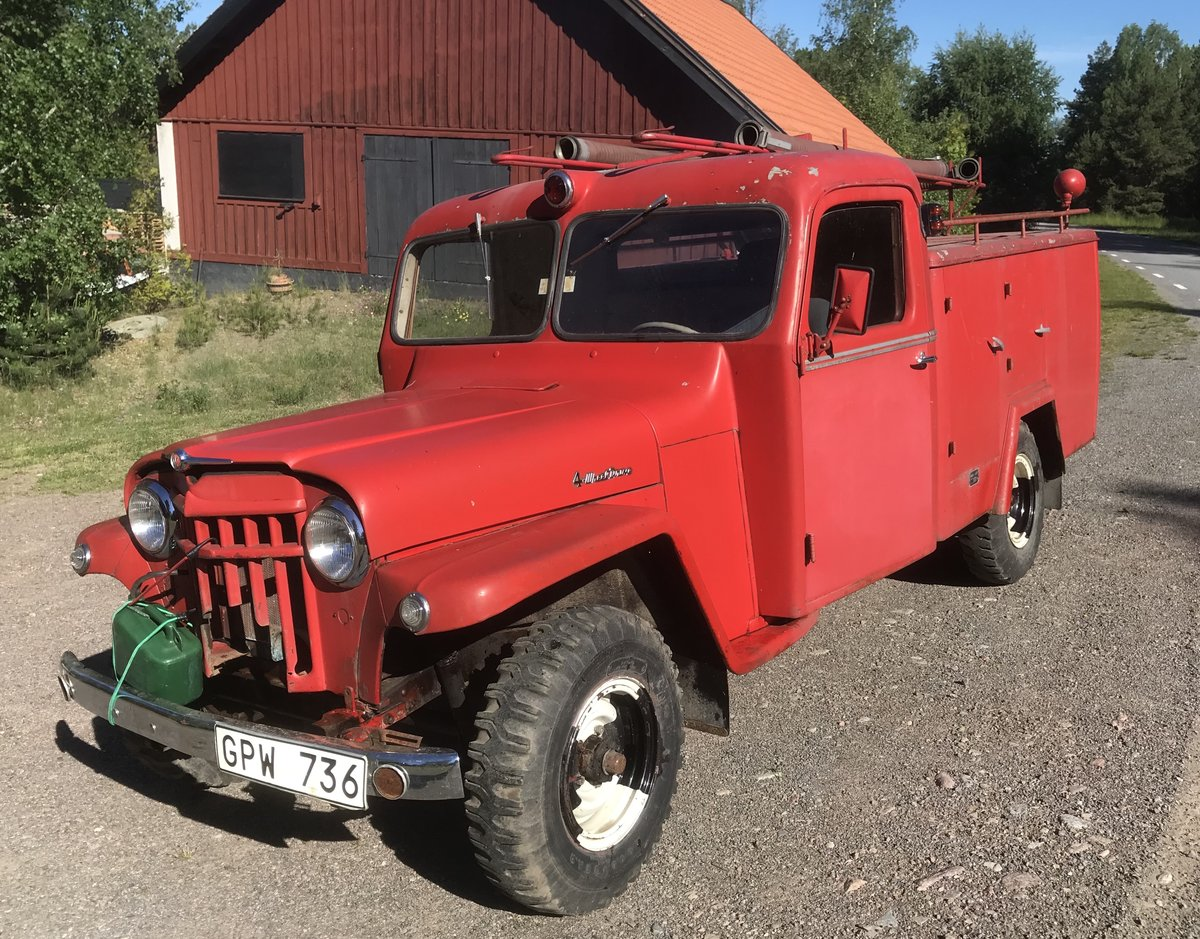 1956 Willys Jeep Overland, 15000km, LHD For Sale (picture 1 of 5)