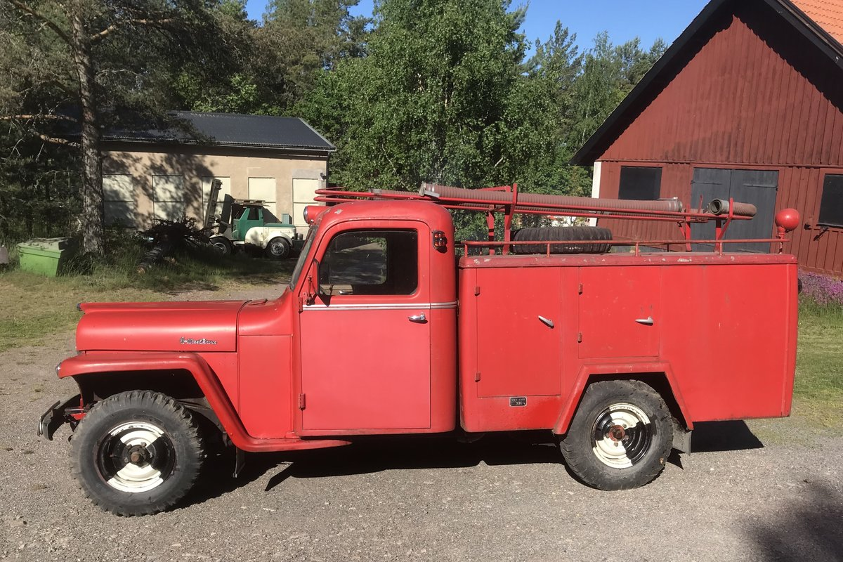 1956 Willys Jeep Overland, 15000km, LHD For Sale (picture 2 of 5)