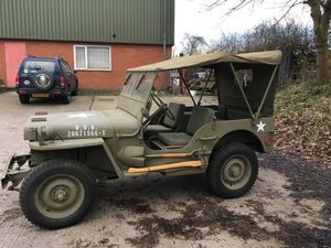1944 WILLYS MB MILITARY JEEP