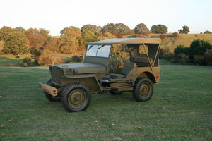 1943 WILLYS MB RESTORED 6 VOLT