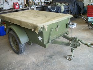 1956 willys jeep trailer