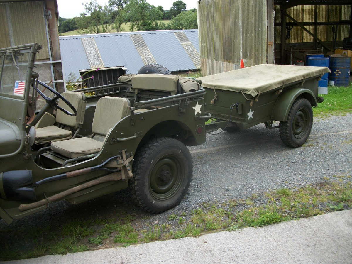 1956 willys jeep trailer SOLD (picture 1 of 6)