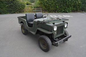 1952 Willys CJ-3B Jeep