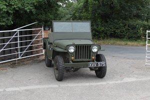 1946 Willys Jeep C2-JA, Recently Restored