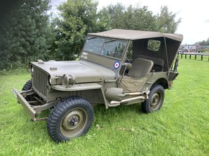 Willys mb jeep  MILITARY   4 x 4  DEPOSIT TAKEN