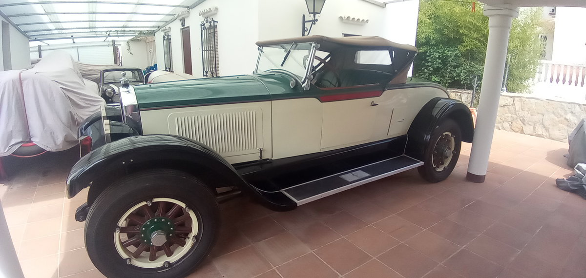 1925 1928 Willys Knight Varsity Roadster For Sale (picture 1 of 6)