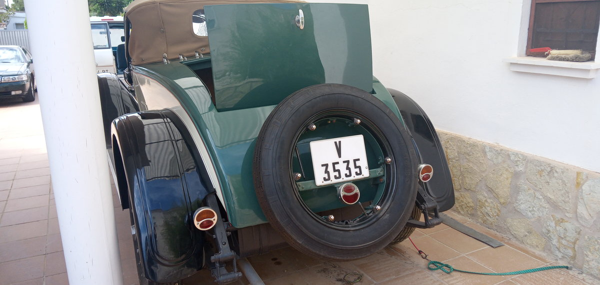 1925 1928 Willys Knight Varsity Roadster For Sale (picture 4 of 6)