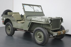 WILLYS MB JEEP 1945 (12Volt Conversion)