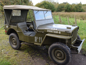 Immaculate Feb 1945 Willys MB WW2 Jeep