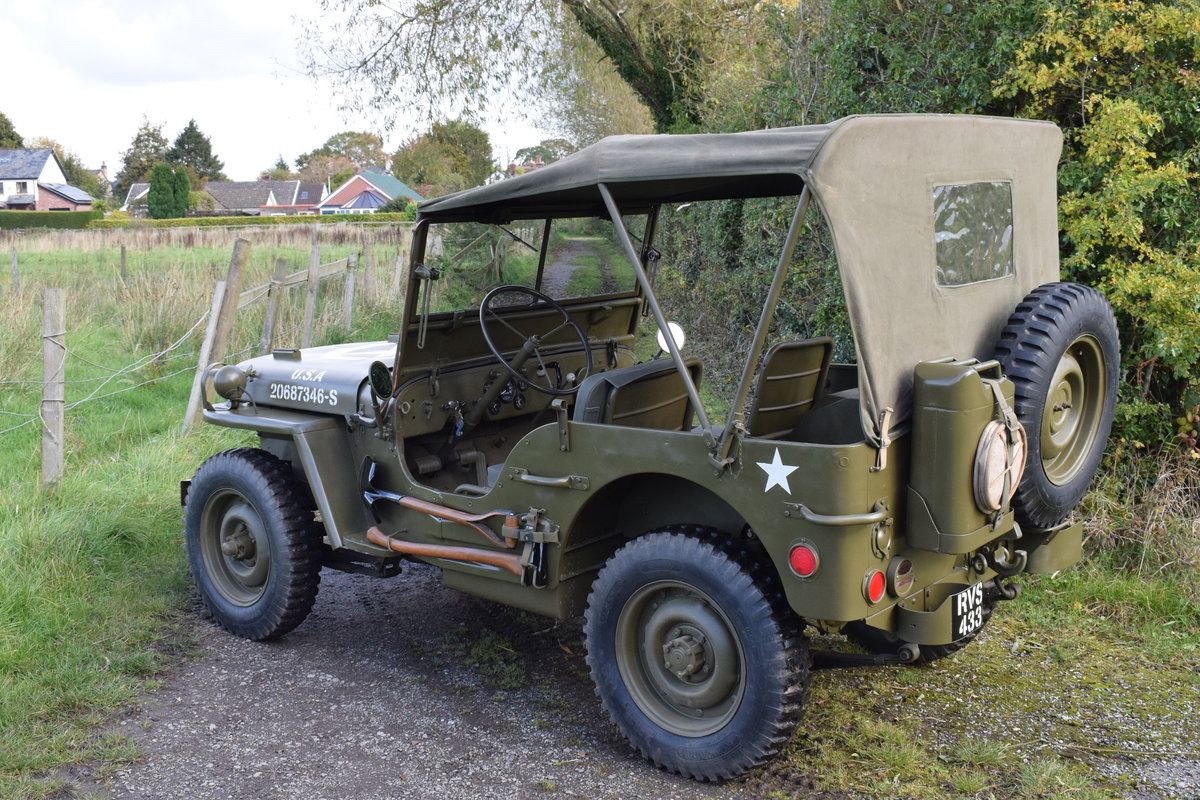 Immaculate Feb 1945 Willys MB WW2 Jeep For Sale (picture 2 of 6)