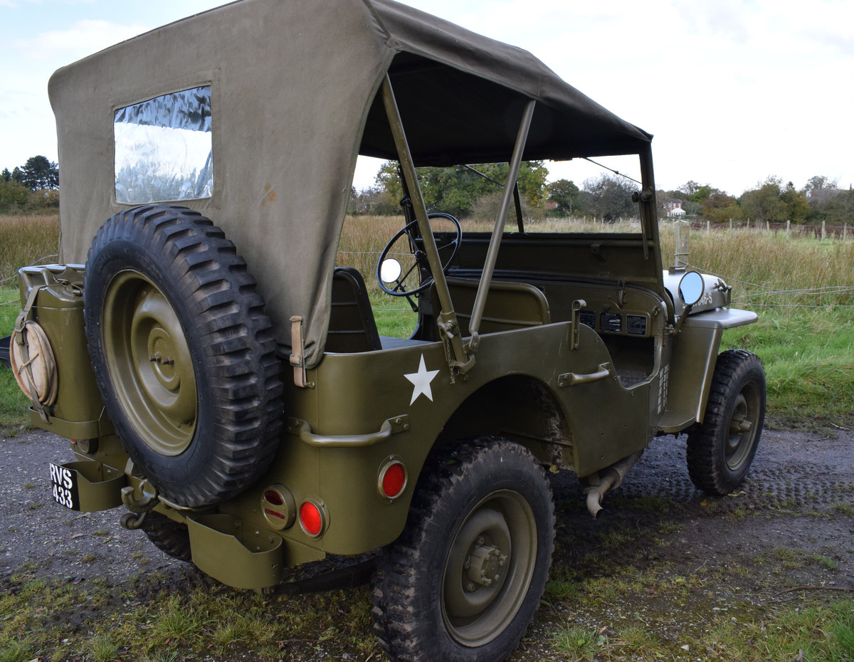 Immaculate Feb 1945 Willys MB WW2 Jeep For Sale (picture 3 of 6)