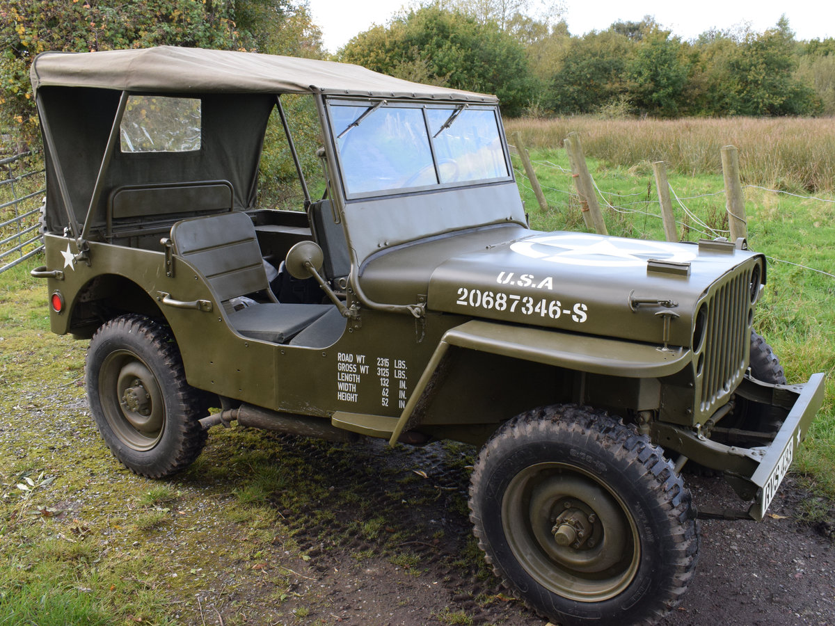 Immaculate Feb 1945 Willys MB WW2 Jeep For Sale (picture 5 of 6)