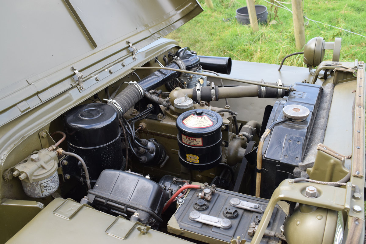 Immaculate Feb 1945 Willys MB WW2 Jeep For Sale (picture 6 of 6)