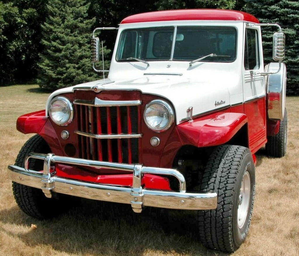 1958 Willys Jeep Pickup For Sale (picture 1 of 6)