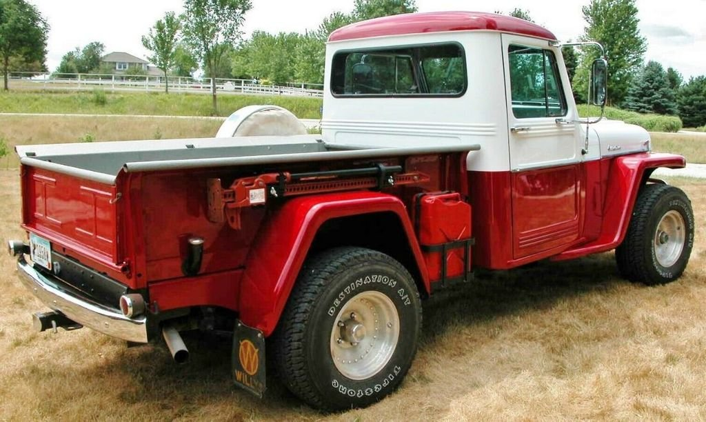 1958 Willys Jeep Pickup For Sale (picture 2 of 6)
