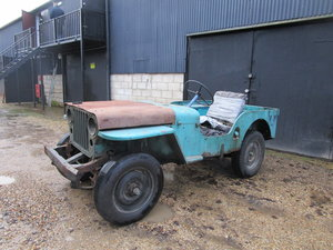 Picture of WILLYS CJ2A 1948 RUNNING PROJECT SOLD