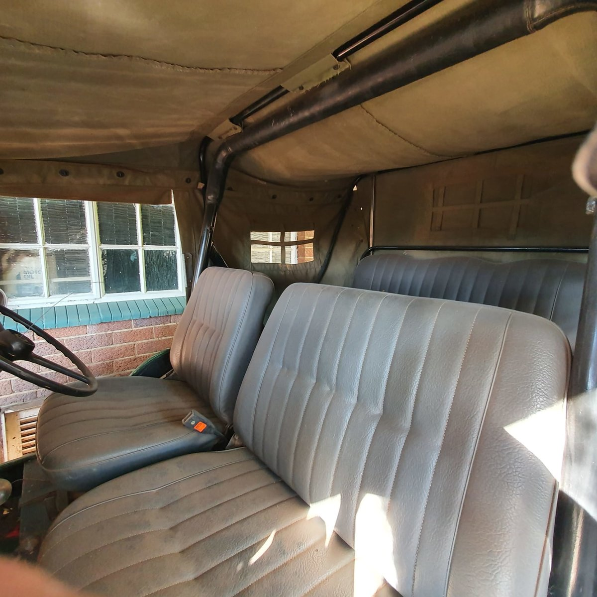 0000 Willy's Kaiser Jeep with front winch For Sale (picture 6 of 9)