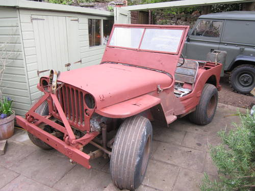 1945 WILLYS MB COULD BE FORD GPW FOR RESTORATION SOLD   Car And Classic