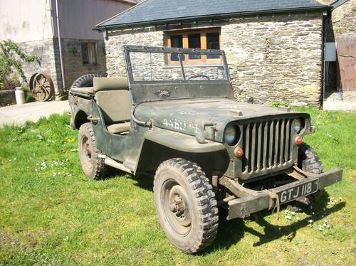 Willys Jeep For Sale >> Willys Jeep 1942 Gpw Ford Sold Car And Classic