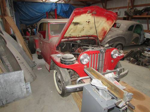 1948 Willys Jeepster Converible For Sale (picture 1 of 1)