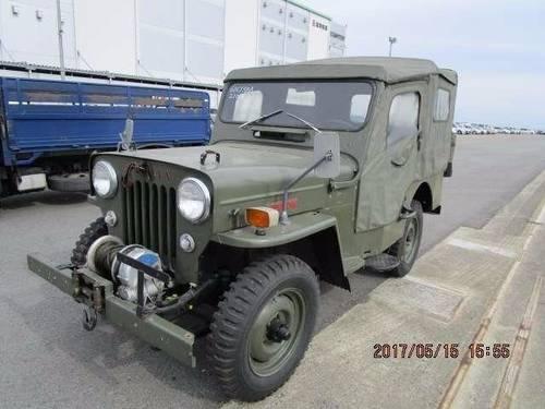 JEEP WILLYS 1953-1960 JEEP CJ3 BJ10 WILLYS 2.2 ARMY MILITARY For Sale (picture 1 of 6)