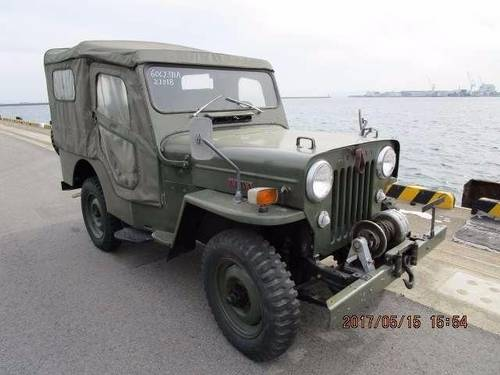 JEEP WILLYS 1953-1960 JEEP CJ3 BJ10 WILLYS 2.2 ARMY MILITARY For Sale (picture 2 of 6)