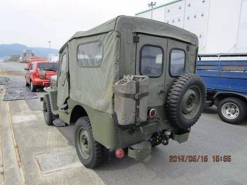 JEEP WILLYS 1953-1960 JEEP CJ3 BJ10 WILLYS 2.2 ARMY MILITARY For Sale (picture 3 of 6)