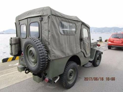 JEEP WILLYS 1953-1960 JEEP CJ3 BJ10 WILLYS 2.2 ARMY MILITARY For Sale (picture 4 of 6)