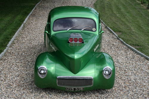 1941 Willys Coupe Blown V8 Hot Rod For Sale (picture 4 of 6)