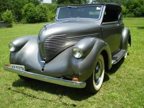 1937 Willys Roadster Convertible For Sale (picture 1 of 6)