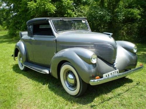 1937 Willys Roadster Convertible For Sale (picture 2 of 6)