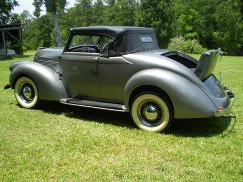 1937 Willys Roadster Convertible For Sale (picture 4 of 6)
